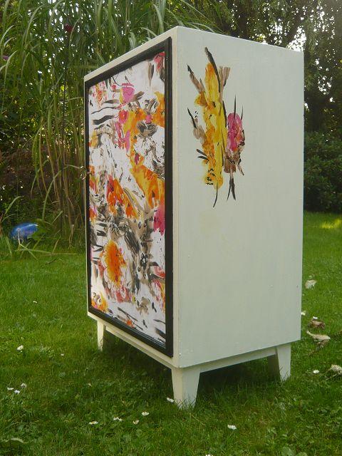 Buchenschrank, 46x34 cm