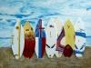 Surfbretter Maui, 80x100 cm