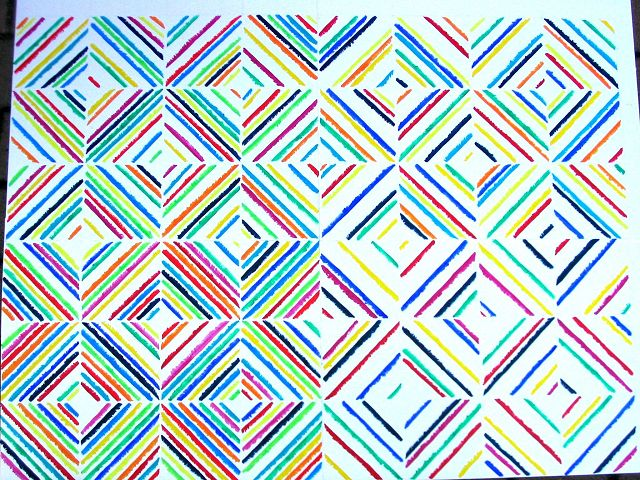 Asymmetrie, 90x120 cm