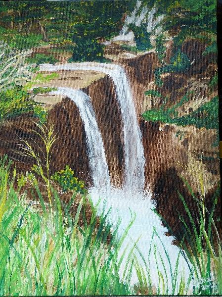 Kauai- Wasserfall