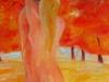 Liebespaar im Herbst, 80 x 100 cm