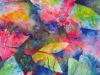 blaue Schmetterlinge, 56x76 cm