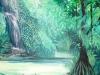 Dschungel IV, 80x80 cm