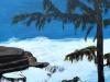 Hawaiistrand 1, 80x80 cm