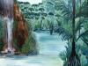 Dschungel V, 80x80 cm