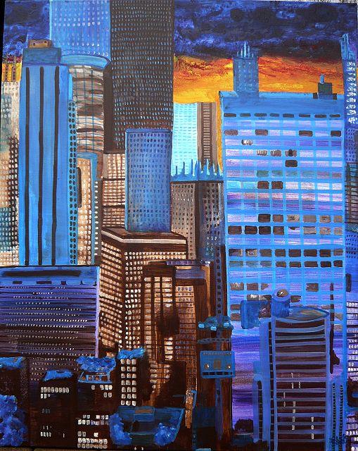 New York 2, 80x100 cm