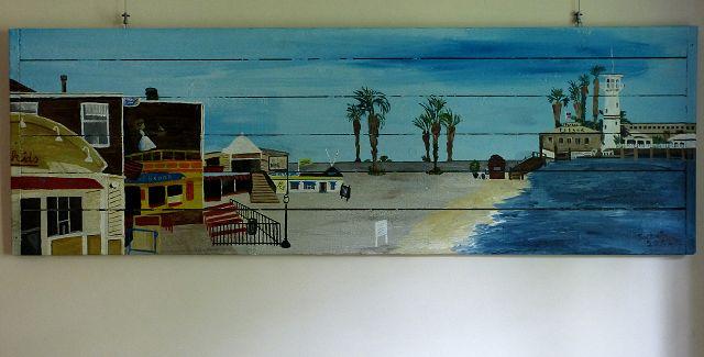 Fishermans Wharf, 100x50 cm
