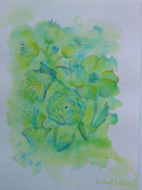 Blumenkomposition 4, 30x40 cm