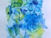 Blumenkomposition 3, 30x40 cm