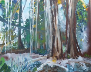 Maui Dschungel 1, 100 x 100
