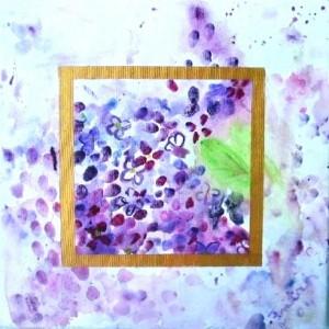 Sanftmut, Acryl auf Leinwand, 40 x 40 cm