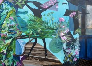 Eindrücke aus Hawaii: Farben, Lebendigkeit, farbige Holzhäuser, Blumen..... alles zusammen ergab dieses Bild