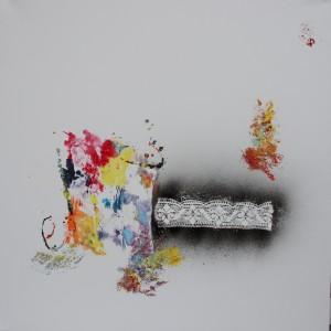 80 x 80 cm Acryl auf Leinwand